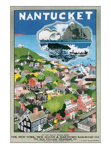 Nantucket Premium Giclee Print