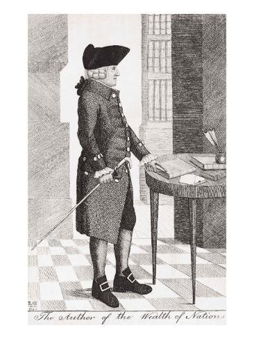 Adam Smith Giclee Print
