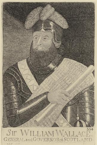 Portrait of William Wallace Giclee Print