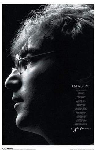 John Lennon Imagine Masterprint