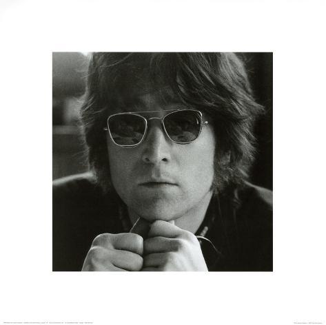 John Lennon Sun Glasses Art Print