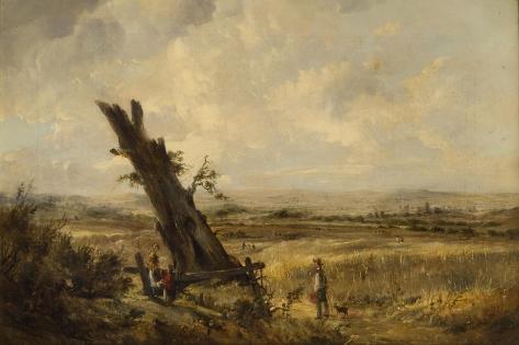 Landscape with Cornfield Giclée-vedos