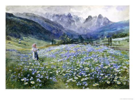 Alpin Meadow Giclee Print