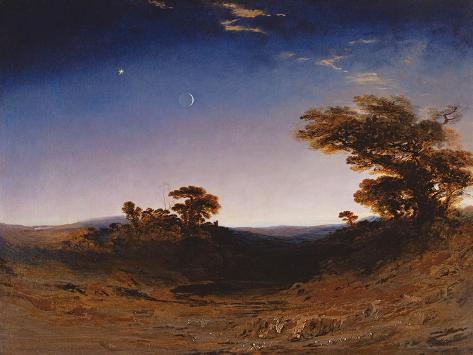 Moonlight Lámina giclée