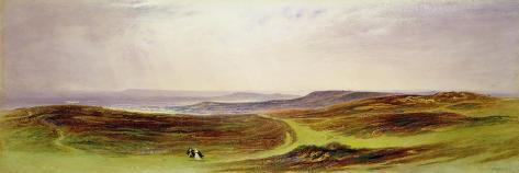 The Valley of the Tyne, My Native Country, from Near Henshaw, 1842 Lámina giclée