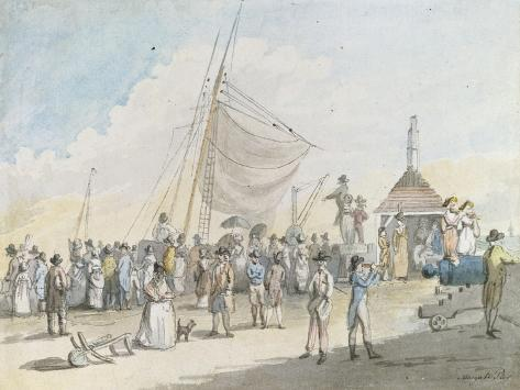 Margate Pier Lámina giclée