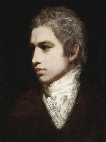 Portrait of a Gentleman, Said to Be Samuel Taylor Coleridge Giclee Print