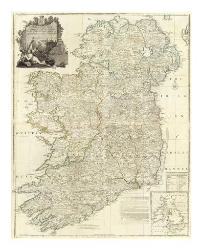 Composite: Ireland, c.1790 Art Print