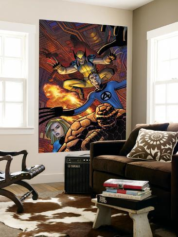 Wolverine No.22 Cover: Wolverine Wall Mural