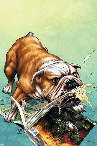 WWH Aftersmash: Damage Control No.2 Cover: Hulk Poster