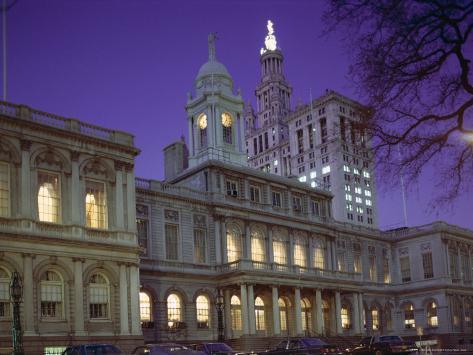 City Hall, New York City, New York, USA Photographic Print