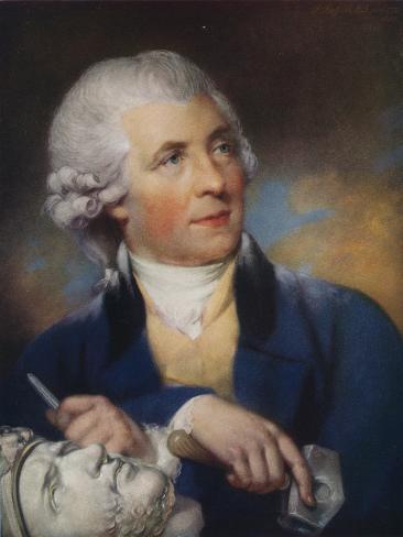 John Bacon (1740-179) British Sculptor, 1925 Giclee Print