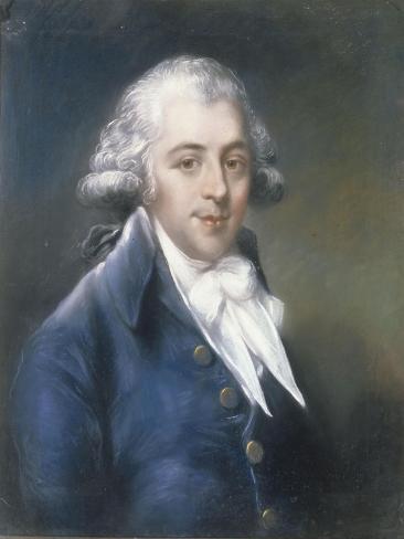 Richard Brindsley Sheradin 1751-1816 (Playwright), 1794 Lámina giclée
