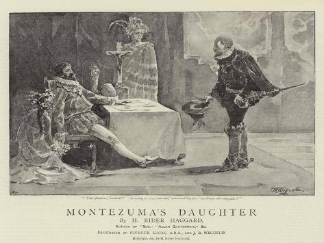 Montezuma's Daughter Giclee Print