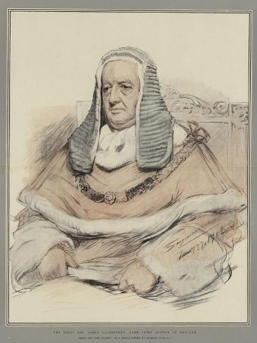 The Right Honourable Baron Alverstone, Lord Chief Justice of England Giclee Print