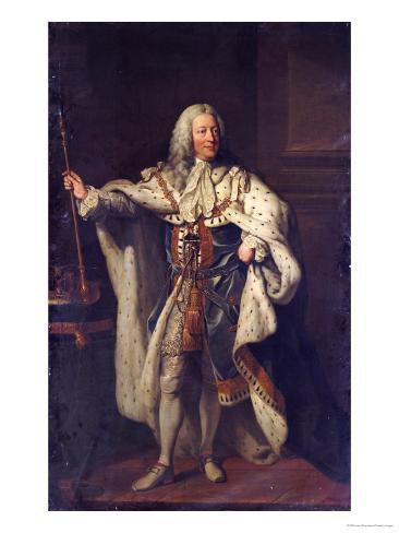 Portrait of King George II Giclee Print