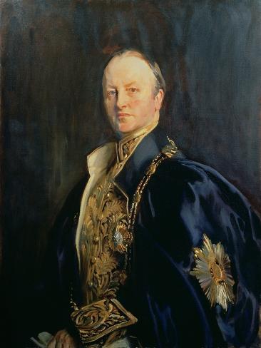 George Nathaniel, Marquis Curzon of Kedleston (1859-1925), 1890s T2 Lámina giclée