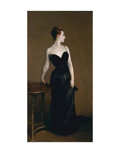 Madame X (Madame Pierre Gautreau), 1883 Art Print