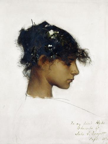 Rosina Ferrara - the Capri Girl, 1878 Impressão giclée