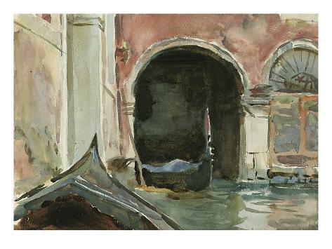 Venetian Canal Giclee Print