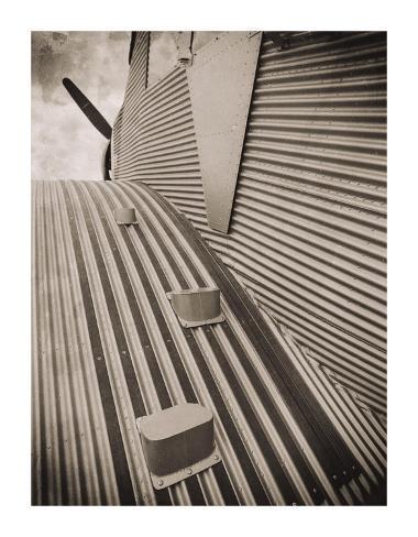 Airplane View Giclee Print