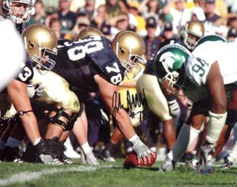 John Sullivan Over Center vs. Michigan State Photo