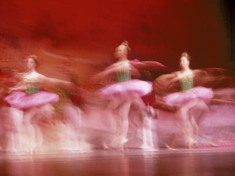 Ballerinas Photographic Print
