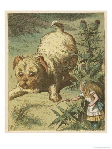 Alice and the Puppy Giclee Print