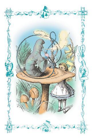 Alice in Wonderland: Advice from a Caterpillar Vinilo decorativo