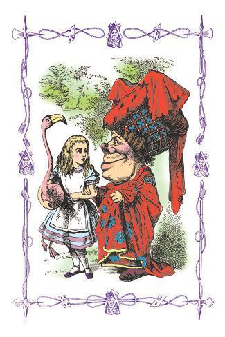 Alice in Wonderland: Alice and the Duchess Vinilo decorativo
