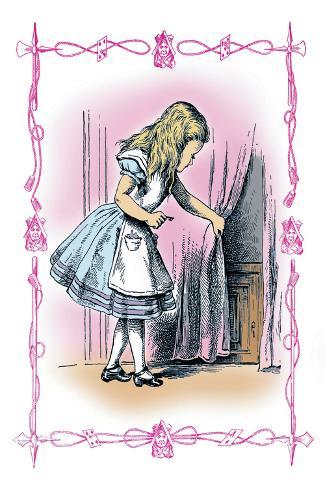 Alice in Wonderland: Alice Tries the Golden Key Vinilo decorativo