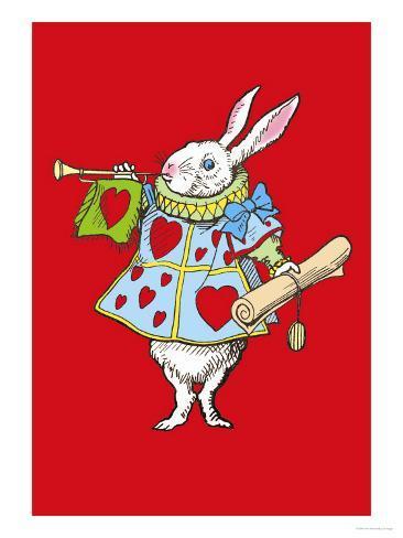 Alice in Wonderland: Horn and Hearts Lámina