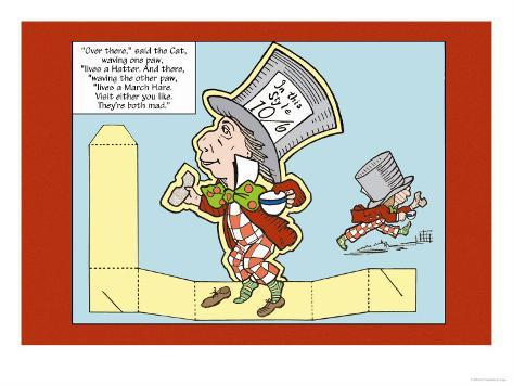 Alice in Wonderland: The Mad Hatter Lámina