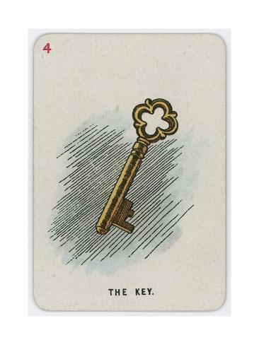 La llave Lámina giclée