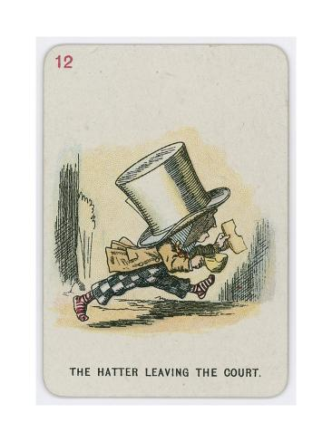 The Hatter Leaving the Court Lámina giclée
