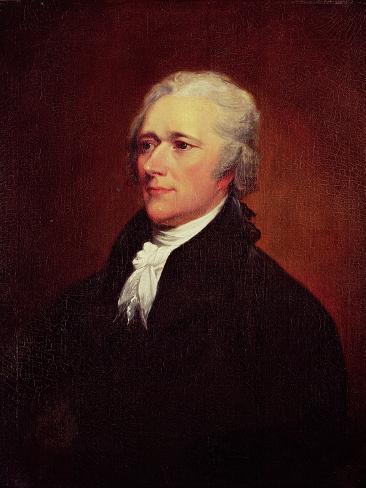 Alexander Hamilton, C.1804 Lámina giclée