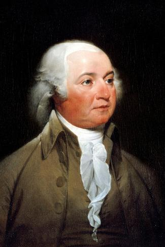 John Trumbull John Adams Portrait Historic Art Print