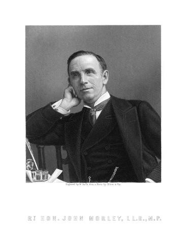 John Viscount Morley Giclee Print