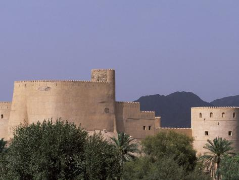 First Rustaq Fort Was Built by the Persians in the Pre-Islamic Period, Oman Photographic Print