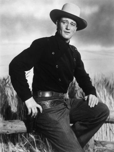 John Wayne, Angel and the Badman, 1947 Photographic Print