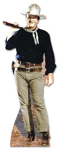 John Wayne - Rifle on Shoulder Lifesize Standup Cardboard Cutouts