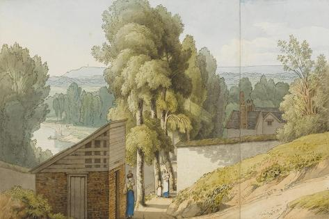 Near the Friars' Walk, Exeter, 1808 Giclee Print