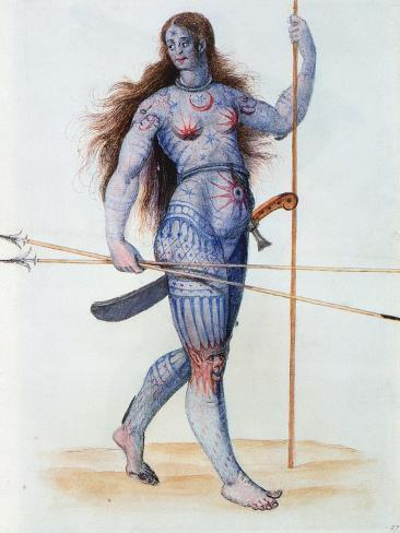 Pictish Woman Giclee Print