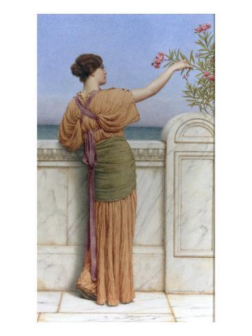 A Choice Blossom, 1918 Lámina giclée