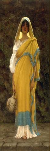 Going to the Well, 1898 Lámina giclée
