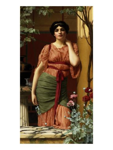 Nerissa, 1906 Lámina giclée