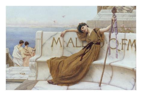 On the Terrace, 1890 Lámina giclée