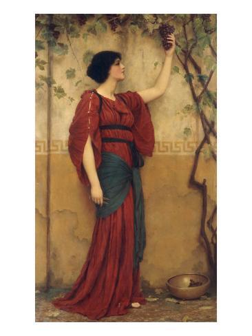 Otoño, 1900 Lámina giclée