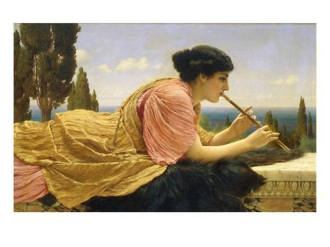 The Melody, 1904 Lámina giclée
