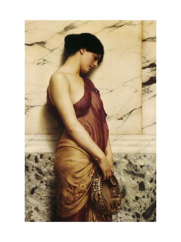 The Tambourine Girl, 1906 Lámina giclée